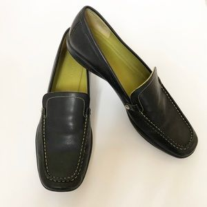 Coach Daisy Black Loafers
